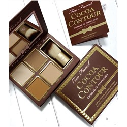 Скульптурирующая палетка Too Faced Cocoa Contour Palette