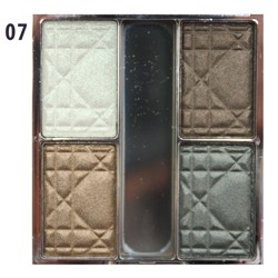 Тени для век Christian Dior 4 Couleurs Palette Fards Apaupieres Eyeshadow № 7