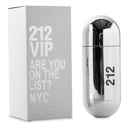 Carolina Herrera 212 Vip Silver edp 80 ml